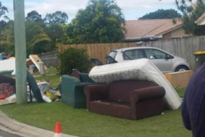 Hard Rubbish on side road
